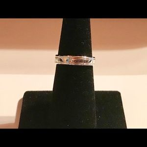 925 Silver Rings Band Size 6